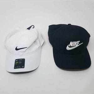 NWOT Nike Mens Baseball Caps Hats Lot of 2 - L/XL